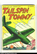 Golden Age (1938-1955):War, Tailspin Tommy #1 (Service Publications, 1946) Condition: FN-. Overstreet 2002 FN 6.0 value = $45....