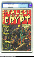 Golden Age (1938-1955):Horror, Tales From the Crypt #26 (EC, 1951) CGC VF+ 8.5 Off-white pages.Wood cover, Davis and Ingels art. Overstreet 2002 VF 8.0 va...
