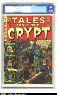 Tales From the Crypt #26 (EC, 1951) CGC VF+ 8.5 Off-white pages. Wood cover, Davis and Ingels art. Overstreet 2002 VF 8...