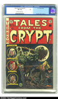 Golden Age (1938-1955):Horror, Tales From the Crypt #37 (EC, 1953) CGC FN+ 6.5 Off-white to whitepages. Orlando, Elder and Ingels art. Overstreet 2002 FN ...