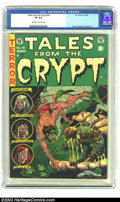 Golden Age (1938-1955):Horror, Tales From the Crypt #40 (EC, 1954) CGC VF 8.0 Off-white to whitepages. Evans, Krigstein and Ingels art. Overstreet 2002 VF...