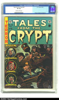 Golden Age (1938-1955):Horror, Tales From the Crypt #42 (EC, 1954) CGC VF 8.0 Off-white to whitepages. Kamen, Krigstein and Ingels art. Overstreet 2002 VF...