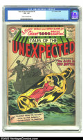 Silver Age (1956-1969):Horror, Tales of the Unexpected #6 (DC, 1956) CGC VG+ 4.5 Cream toOff-white pages. Ruben Moreira provides the cover as a group ofs...