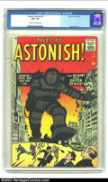 Silver Age (1956-1969):Mystery, Tales to Astonish #3 (Marvel, 1959) CGC VG+ 4.5 Cream to off-whitepages. Steve Ditko art. Overstreet 2002 GD 2.0 value = $5...