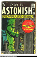Silver Age (1956-1969):Horror, Tales to Astonish #34 (Marvel, 1962) Condition: GD/VG slightlybrittle pages. Overstreet 2002 GD 2.0 value = $19; FN 6.0 val...