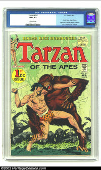 Tarzan of the Apes (DC) #207 (DC, 1972) CGC NM- 9.2 Off-white pages. This issue features the first DC issue with Joe Kub...