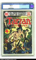 Bronze Age (1970-1979):Miscellaneous, Tarzan of the Apes (DC) #210 (DC, 1972) CGC NM 9.4 Off-white pages. Joe Kubert illustrates the cover and interiors for DC's ...