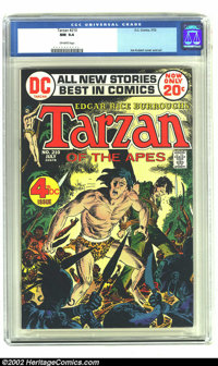 Tarzan of the Apes (DC) #210 (DC, 1972) CGC NM 9.4 Off-white pages. Joe Kubert illustrates the cover and interiors for D...
