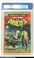Bronze Age (1970-1979):Horror, Tomb of Dracula #1 (Marvel, 1972) CGC NM 9.4 White pages. First appearance of Dracula; Neal Adams cover, Gene Colan art. Ove...