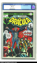 Bronze Age (1970-1979):Horror, Tomb of Dracula #7 (Marvel, 1973) CGC NM- 9.2 Off-white to whitepages. Gene Colan and Tom Palmer provide the interior art f...