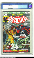 Bronze Age (1970-1979):Horror, Tomb of Dracula #8 (Marvel, 1973) CGC NM 9.4 White pages. GeneColan and Ernie Chua provide the art for this issue. Beautifu...