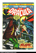 Bronze Age (1970-1979):Horror, Tomb of Dracula #10 (Marvel, 1973) Condition = VG-. Features thefirst appearance of Blade, the Vampire Slayer. Overstreet 2...