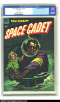 Golden Age (1938-1955):Science Fiction, Tom Corbett Space Cadet #6 (Dell, 1953) CGC VF+ Cream to off-whitepages. This issue has a stunning painted cover my an unna...