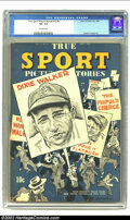Golden Age (1938-1955):Non-Fiction, True Sport Picture Stories v2 #6 (Street & Smith, 1944) CGC VF-7.5 Off-white pages. Overstreet 2002 VF 8.0 value = $105....