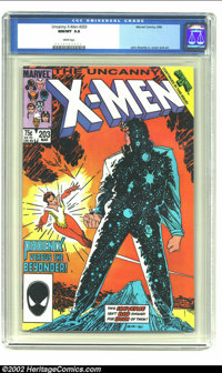 Uncanny X-Men, The #203 (Marvel, 1986) CGC NM/MT 9.8 White pages. John Romita Jr. cover and art. Overstreet 2002 NM 9.4...