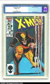 Uncanny X-Men, The #207 (Marvel, 1986) CGC NM/MT 9.8 White pages. John Romita Jr. art. Overstreet 2002 NM 9.4 value = $6...