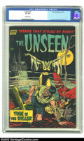 Golden Age (1938-1955):Horror, The Unseen #7 (Standard, 1952) CGC VF 8.0 Off-white pages. JackKatz and Mike Sekowsky art. Overstreet 2002 VF 8.0 value = $...
