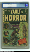 Golden Age (1938-1955):Horror, Vault of Horror #22 (EC, 1951) CGC VF- 7.5 Off-white pages. JohnnyCraig cover. Ingels, Davis, and Kamen art. Overstreet 200...