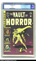 Golden Age (1938-1955):Horror, Vault of Horror #40 (EC, 1954) CGC VF 8.0 Off-white pages. The final issue of this series. Craig, Ingels and Krigstein art. ...
