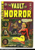 Golden Age (1938-1955):Horror, Vault of Horror Lot (EC, 1951) Apparent GD/VG 2.5 Cream tooff-white pages. Issues #19 and #22, Apparent GD/VG 2.0 and GD2....