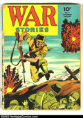 Golden Age (1938-1955):War, War Stories #7 (Dell, 1943) Condition: GD-. Cover detached. Overstreet 2002 GD 2.0 value = $20....