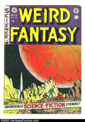 Golden Age (1938-1955):Science Fiction, Weird Fantasy #13 (EC, 1952) Condition: VG+. Fantastic Pre-Code ECwith fantastic artwork and stories. Overstreet 2002 GD 2....