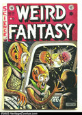 Golden Age (1938-1955):Science Fiction, Weird Fantasy #16 (EC, 1952) Condition: VG. Fantastic Pre-Code ECwith fantastic artwork and stories. Overstreet 2002 GD 2.0...