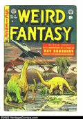 Golden Age (1938-1955):Science Fiction, Weird Fantasy #17 (EC, 1953) Condition: VG+. Ray Bradburyadaptation. Fantastic Pre-Code EC with fantastic artwork andstori...