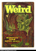 Golden Age (1938-1955):Horror, Weird Horrors #6 & #7 (St. John, 1952) Condition = GD. Scarcepre-code horror books with classic Ekren covers. These books a...