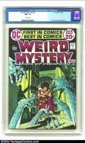 Bronze Age (1970-1979):Horror, Weird Mystery Tales #1 (DC, 1972) CGC NM+ 9.6 Off-white pages.Michael W. Kaluta depicts a horde of phantom arms coming up t...