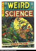 Golden Age (1938-1955):Science Fiction, Weird Science #9 (EC, 1951) Condition: VG-. Fantastic Wally Woodcover (his first at EC) and art. Here is a beautiful EC, ch...