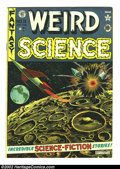 Golden Age (1938-1955):Science Fiction, Weird Science #11 (EC, 1952) Condition: VG+. Here is a beautifulEC, chock full of fantastic artwork and story telling. Over...