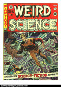 Golden Age (1938-1955):Science Fiction, Weird Science #12 (EC, 1952) Condition: VG. Here is a beautiful EC,chock full of fantastic artwork and story telling. Overs...