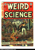 Golden Age (1938-1955):Science Fiction, Weird Science #13 (EC, 1952) Condition: VG+. Here is a beautifulEC, chock full of fantastic artwork and story telling. Over...
