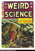 Golden Age (1938-1955):Science Fiction, Weird Science #17 (EC, 1953) Condition: VG/FN. Classic Wally Woodcover. Here is a beautiful EC, chock full of fantastic art...