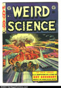 Golden Age (1938-1955):Horror, Weird Science #18 (EC, 1953) Condition: VG. Great Wally Wood flyingsaucer cover. Here is a beautiful EC, chock full of fant...