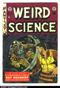 Golden Age (1938-1955):Science Fiction, Weird Science #19 (EC, 1953) Condition: GD/VG. Here is a beautifulEC, chock full of fantastic artwork and story telling. Fr...