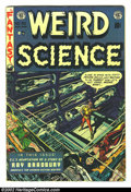 Golden Age (1938-1955):Science Fiction, Weird Science #20 (EC, 1953) Condition: VG. Frank Frazetta art.Here is a beautiful EC, chock full of fantastic artwork and ...