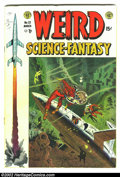 Golden Age (1938-1955):Science Fiction, Weird Science-Fantasy #23 (EC, 1954) Condition: VG-. First issuethis title. Here is a beautiful EC, chock full of fantastic...