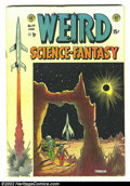 Golden Age (1938-1955):Science Fiction, Weird Science-Fantasy #24 (EC, 1954). Feldstein provides his firstcover for this second issue of this newly merged science/...
