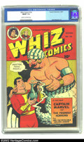 Golden Age (1938-1955):Superhero, Whiz Comics #126 (Fawcett, 1950) CGC FN/VF 7.0 Cream to off-white pages. Basil Wolverton art. Overstreet 2002 FN 6.0 value =...