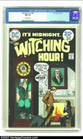 Bronze Age (1970-1979):Horror, Witching Hour #40 (DC, 1974) CGC NM 9.4 Off-white pages. Highestgraded copy on CGC's census. Not surprising, with the solid...