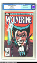 Modern Age (1980-Present):Superhero, Wolverine Limited #1 (Marvel, 1982) CGC NM+ 9.6 Off-white to whitepages. Frank Miller cover and art. Extremely nice, high-g...