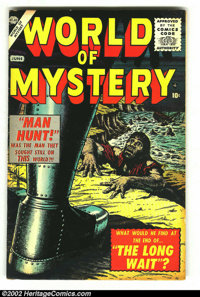 World of Mystery #1 (Atlas, 1956) Condition: FN. Orlando and Torres art. Rarely seen first issue! Here is another great...