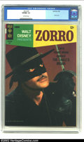 Silver Age (1956-1969):Miscellaneous, Zorro #2 (Gold Key, 1966).CGC VF/NM 9.0 Off-white pages Zorro stoodalone against the Eagle's brood in this high grade photo...