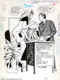 "Original Comic Art:Splash Pages, Unknown Artist - DC Romance-Original Art Splash Page, ""Heart TurnBack the Years"" (DC, 1974). For fans of DC romance this wi..."