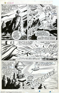 George Tuska and John Tartaglione Original Art Panel Pages for X-Men #43, page 7 (Marvel, 1967). The mighty Magneto is t...