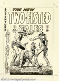 Original Comic Art:Covers, John Severin - Two-Fisted Tales #36 Cover Recreation Original Art(Russ Cochran, 1980). In 1953, John Severin started workin...