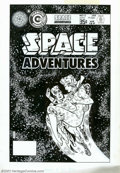 Original Comic Art:Covers, Steve Ditko - Original Cover Art for Space Adventures #12(Charlton, 1979). A cosmically creative cover illustration by the...