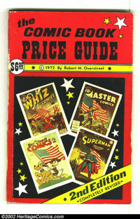 Overstreet Price Guide #2 (Gemstone, 1972) Condition G/VG 3.0. Softcover. Autographed by Bob Overstreet. Edge wear. Over...